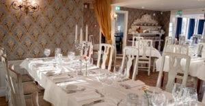 Vacker matsal Gripsholms Värdshus