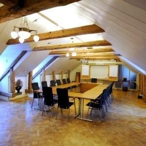 Boka Åkersrummet med plats för upp till 34 personer