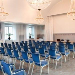 Konferens i Hertig Karls sal på Södertuna Slott