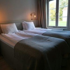 Sov gott i slottets hotellrum