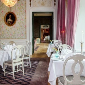 Lilla matsalen på Södertuna Slott