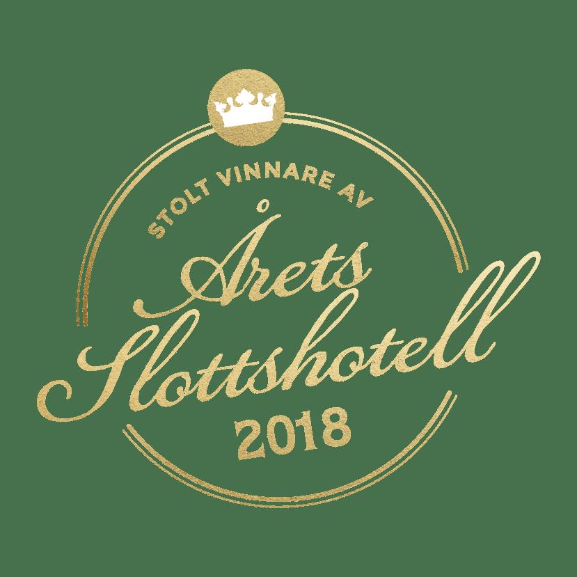 Vinnare av årets slottshotell 2018